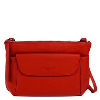 Lancaster Soft Vintage Nova Bag Pocket and Worn Travers 578-24 Red