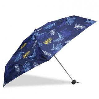 Isotoner Mini Parapluie Femme Pliant X-TRA Sec Manuel Feuille De Palmier