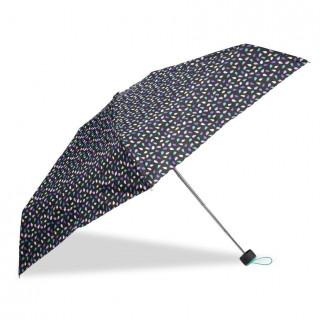 Isotoner Mini Umbrella Women Fold X-TRA Sec Manual Pop Seed