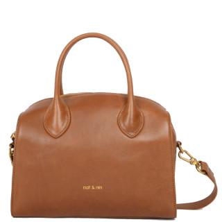 Nat & Nin Celeste Bag A Main Bowling Camel