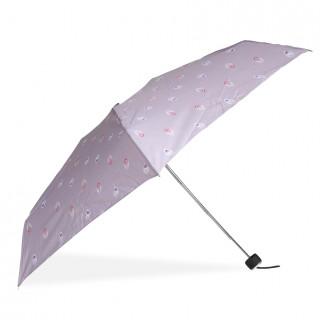 Isotoner Mini Umbrella Women Fold X-TRA Dry Manuel Peacock