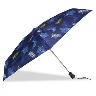 Isotoner Umbrella Women X-TRA Sec Automatic Palm Leaf
