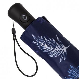 Isotoner Parapluie Femme Pliant X-TRA Sec Automatique Feuille De Palmier