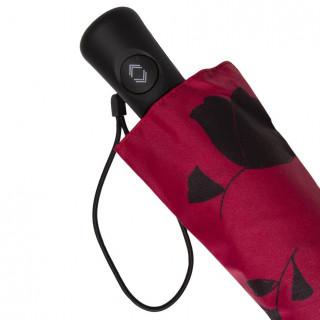 Isotoner Parapluie Femme Pliant X-TRA Sec Automatique Ginko Fleur