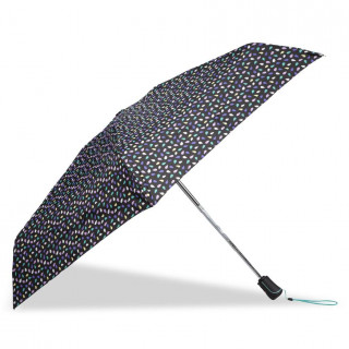 Isotoner Umbrella Women Fold X-TRA Sec Automatic Pop Seed