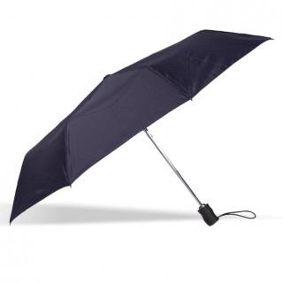 Isotoner Umbrella Men Automatic Fold X-TRA Solid Marine
