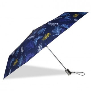 Isotoner Umbrella Women X-TRA Solid Automatic Palm Leaf