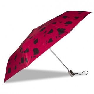Isotoner Umbrella Women X-TRA Solid Automatic Ginko Flower