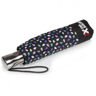 Isotoner Parapluie Femme Pliant X-TRA Solide Automatique Graine Pop