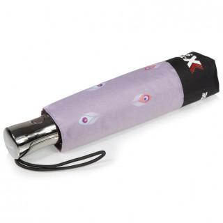 Isotoner Parapluie Femme Pliant X-TRA Solide Automatique Paon