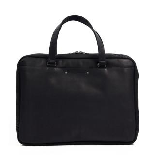 Fourès Baroudeur Satchel Leather Workshops 37cm F9515 Black