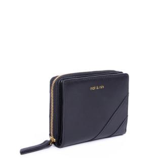 Nina Black compact Nat & Nin Wallet