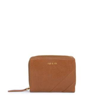 Nina Caramel compact Nat & Nin Wallet