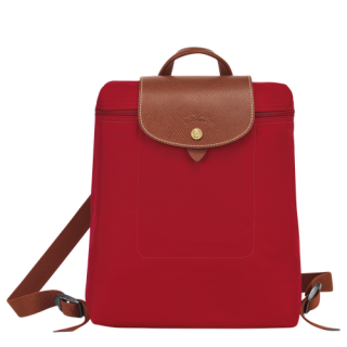 Longchamp Le Pliage Original Sac à Dos Rouge face