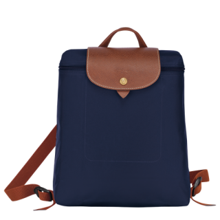 Longchamp Le Pliage Original Sac à Dos Navy