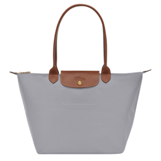Longchamp The Original Shopping L Gris Pliage