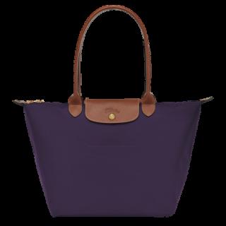 Longchamp The Pliage Original Shopping L Blueberry