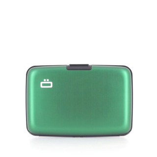 Ogon Stockholm Card Holder Aluminium Green