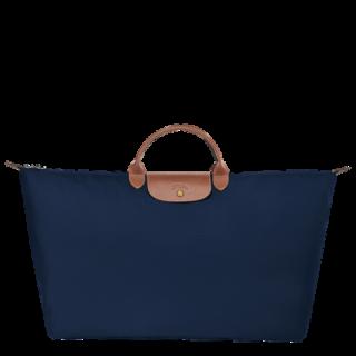 Longchamp The OriginalPliage XL Navy Travel Bag