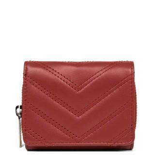 Lancaster Parisienne Matelassé Wallet Back to Back 122-22 Red
