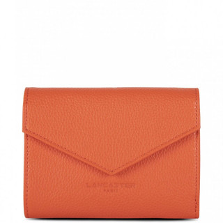 Lancaster Foulonne Double Wallet Back A back 170-29 Orange