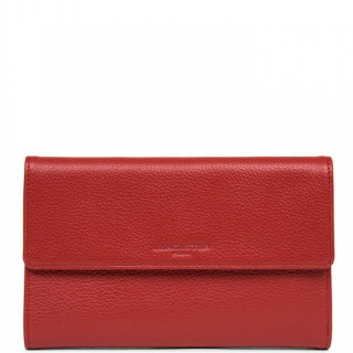 Lancaster Foulonne Double Wallet Companion 170-22 Red
