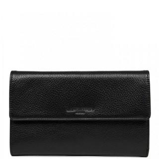 Lancaster Foulonne Double Wallet Companion 170-22 Black