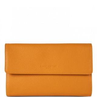 Lancaster Foulonne Double Wallet Companion 170-22 Yellow