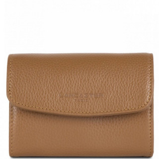 Lancaster Foulonne Double Wallet Currency 170-20 Camel