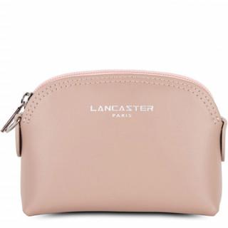 Lancaster Constance Porte Monnaie 137-01 Nude Rose Galet Rosé