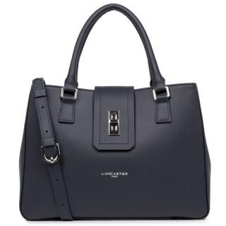 Lancaster City Maé Bag Cabas Main 432-26 Dark Blue