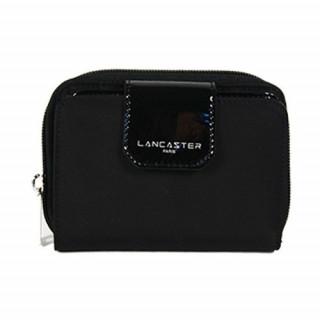 Lancaster Basic Verni Portefeuille 104-14 Noir