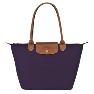 Longchamp The Original Shopping S Blueberry Pliage