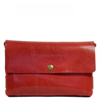 Yolète Andy Bag Leather Pocket Primavera Cherry