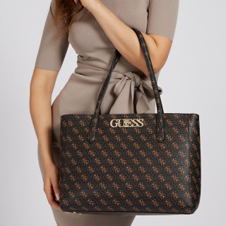 Guess Uptown Sac Cabas Brown