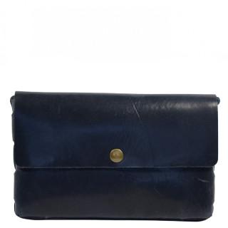 Yolète Andy Bag Leather Pocket Primavera Navy