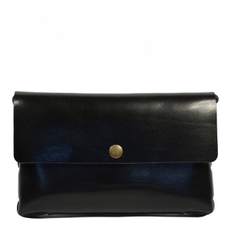 Yolète Andy Bag Leather Pocket Primavera Black