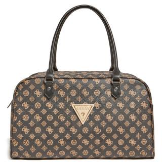 Guess Wilder Duffle Baluchon Travel Bag 45 cm Brown