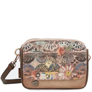 Anekke Little Bag A Shoulder and Multicolored Ixchel Pocket