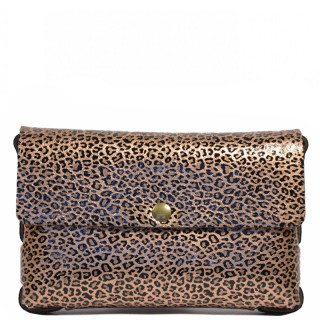 Yolète Andy Bag Leather Pocket Panthera Copper