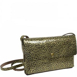 Yolète Andy Bag Leather Pocket Panthera Gold