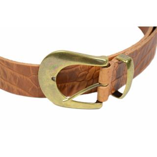 Yolète 200/40 Belt 95 CM Caiman Cognac