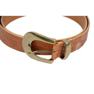 Yolète 209/30 Belt 85 CM Caiman Cognac