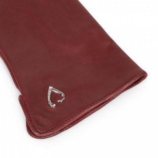 Lancaster Gants Femme Compatibles Écran Tactile Rouge