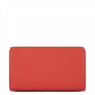 Lancaster City Wallet Back To Back Companion 123-23 Vermillon