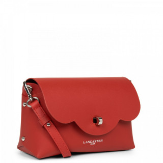 Lancaster City Crossbody Bag 423-48 Red in Champagne