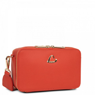 Lancaster City Crossbody Bag Zippé 523-70 Vermillon