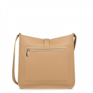 Lancaster Foulonne Double Grand Crossbody Bag 470-34 Natural In Beige