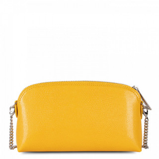 Lancaster Lucertola Leather Kit Bag 133-02 Yellow