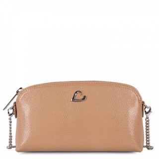 Lancaster Lucertola Leather Kit Bag 133-02 Taupe